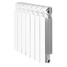 Global STYLE PLUS 500 Global STYLE PLUS 500 1 секция радиатор биметаллический боковое подключение (белый RAL 9010)