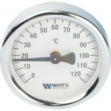 Watts Watts Термометры биметаллические FR810(ТАВ) 63/120 Термометр биметаллический накладной, 63 mm