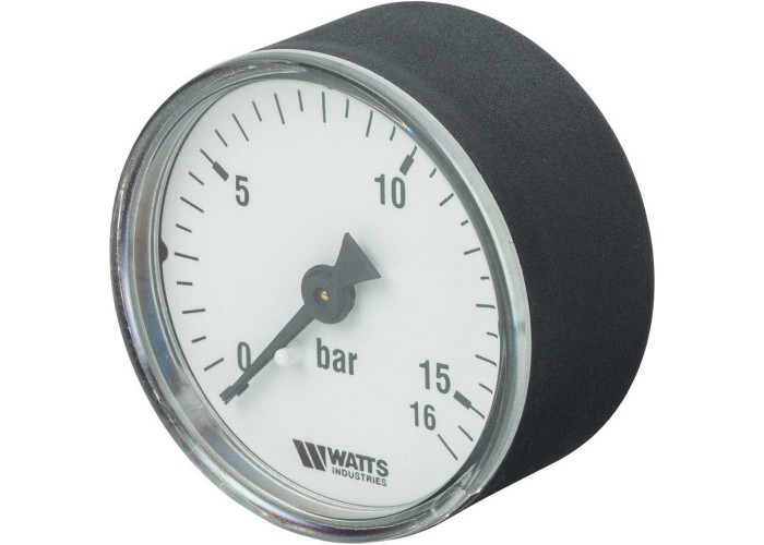 "Watts F+R100(MDA) 50/16x1/4"" Манометр аксиальный 50 мм, 0-16 бар."