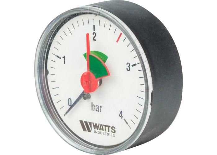 "Watts F+R101(MHA) 63/4x3/8"" Манометр аксиальный 63мм, 0-4 бар"
