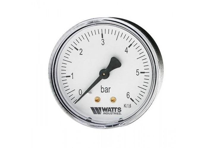 "Watts 10008029(03.21.116) F+R100(MDA)(M3A-80 0-16BAR) 80/16x1/4"" Watts Манометр аксиальный 80мм, 0-16 бар"