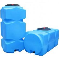 АНИОН Баки для воды Танк 800 л вертикальный с фланцем и крышкой с клапанами, со сливом