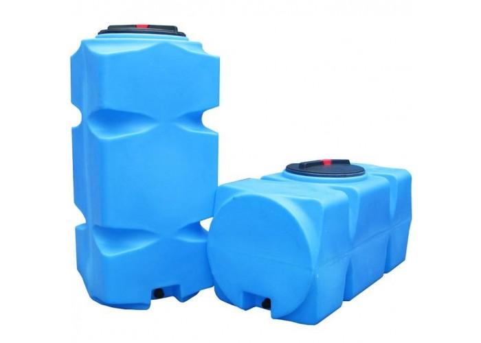 АНИОН Баки для воды Танк 1500 л с фланцем и крышкой с клапанами, со сливом