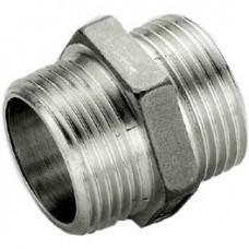 TIEMME Переходник НР 16х3/8 никелированный для металлопластиковых труб винтовой
