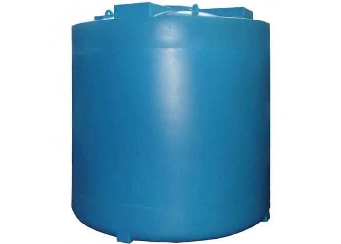 АНИОН Емкости цилиндрические ветикальные Емкость цилиндр, 8000 л с фланцем D567 мм с рез, уплотнением и крышкой с клапанами (8000ВФК2) в Белгороде