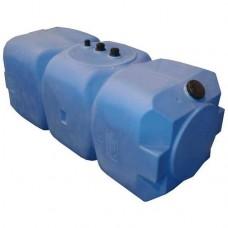 АНИОН Баки для воды Танк 500 л горизонтальный с фланцем и крышкой с клапанами, со сливом