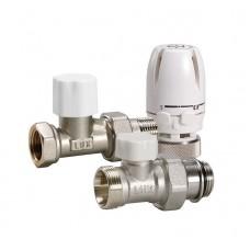 LUXOR Блистер термостатический комплект КТ201 1/2 прямой