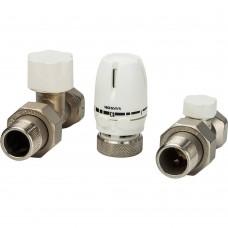 LUXOR Блистер термостатический комплект КТ201 3/4 прямой