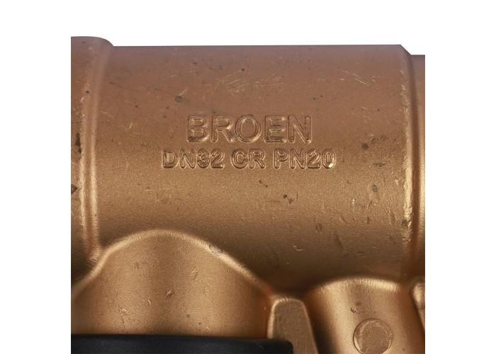 БРОЕН БРОЕН Venturi FODRV Клапан балансировочный ручной повышенной пропускной способности с дренажем резьбовой DN 032 PN 25 Kvs=13,2 м3/ч,артикул 4655000H-001003 [4655000H-001003]