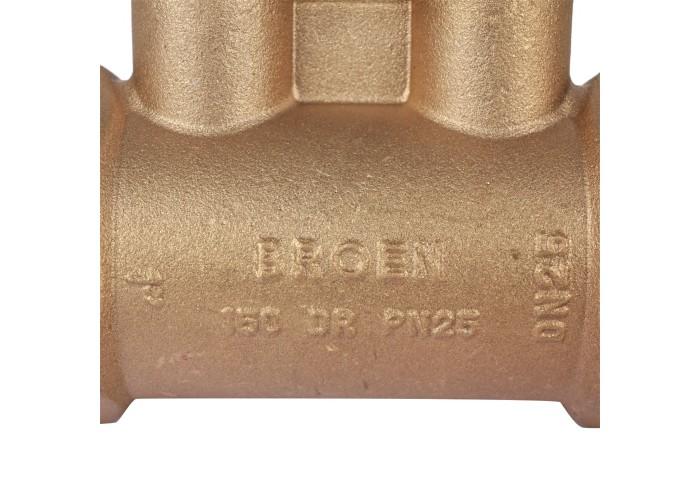 БРОЕН БРОЕН V с дренажем Клапан балансировочный ручной стандартной пропускной способности резьбовой DN 025S PN 25 Kvs=7,46 м3/ч,артикул 4551000S-001673 [4551000S-001673]