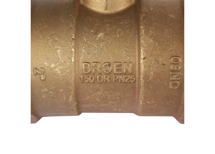 БРОЕН БРОЕН V с дренажем Клапан балансировочный ручной стандартной пропускной способности резьбовой DN 050S PN 25 Kvs=34,5 м3/ч,артикул 4851000S-00167 [4851000S-001673] в Белгороде