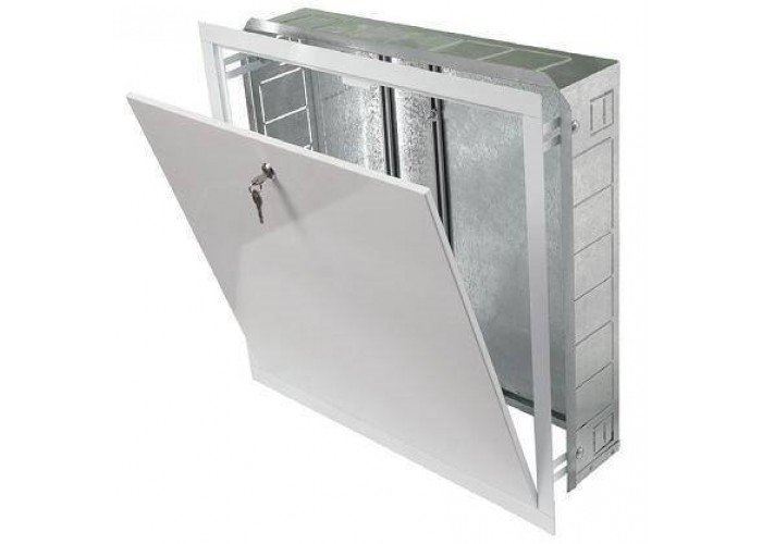 REHAU RAUTITAN Шкафы Шкаф коллекторный, встраиваемый, тип UP 110/550, белый