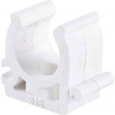 Kalde d=16 Крепление для полипропиленовых труб под сварку (цвет белый)