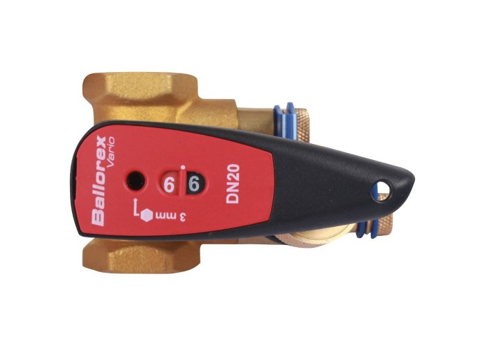 БРОЕН БРОЕН V с дренажем Клапан балансировочный ручной стандартной пропускной способности резьбовой DN 020S PN 25 Kvs=4,4 м3/ч,артикул 4451000S-001673 [4451000S-001673] в Белгороде