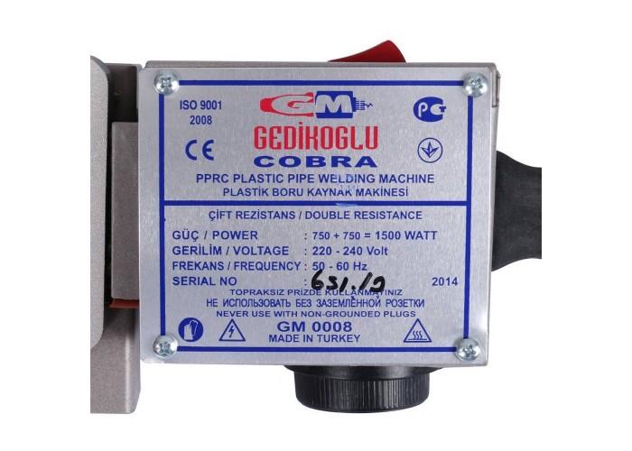 GM Cobra Ekonomik 20-40(75), 1500W Свар. Аппарат + комплект матриц (20-40 мм) в ящике в Белгороде
