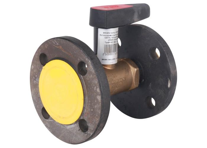 БРОЕН БРОЕН Venturi DRV Клапан балансировочный ручной фланцевый DN 025 PN 16 Kvs=9,94 м3/ч,артикул 4550510S-001005 [4550510S-001005]