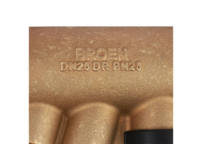 БРОЕН БРОЕН Venturi FODRV Клапан балансировочный ручной повышенной пропускной способности с дренажем резьбовой DN 025 PN 25 Kvs=12,1 м3/ч,артикул 4555000H-001003 [4555000h-001003]