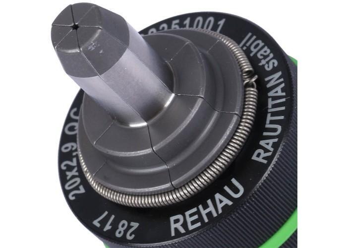 REHAU RAUTOOL RAUTOOL Расширительная насадка для экспандера QC 20х2,9 (Stabil)