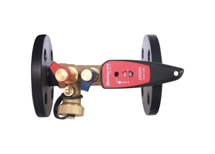 БРОЕН БРОЕН Venturi FODRV Клапан балансировочный ручной повышенной пропускной способности с дренажем фланцевый DN 020 PN 16 Kvs=5,72 м3/ч,артикул 4455500H-001005 [4455500H-001005]