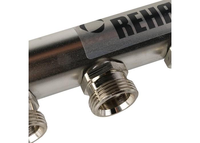 REHAU Распределительный коллектор HLV на 6 групп нерж. сталь
