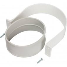 STOUT Элемент дымохода комплект для соединения труб внешний DN100, уплотнение EPDM и хомут в комплекте.
