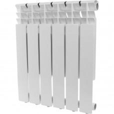 ROMMER Optima 500 6 секций радиатор алюминиевый (RAL9016)