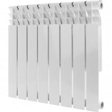 ROMMER Optima BM 500 8 секций радиатор биметаллический (RAL9016)