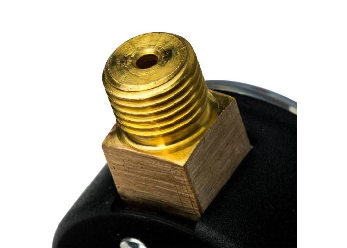 """STOUT SIM-0008 Манометр радиальный с указателем предела. Корпус Dn 50 мм 1/4"""", 0...4 бар, кл.2.5 в Белгороде"""