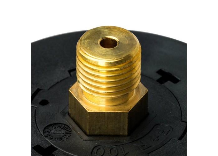 """STOUT SIM-0009 Манометр аксиальный. Корпус Dn 63 мм 1/4"""", 0...6 бар, кл.2.5"""
