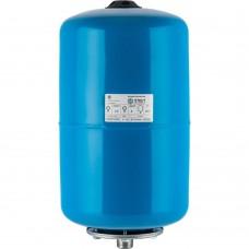 STOUT STW-0001 Расширительный бак, гидроаккумулятор 20 л. вертикальный (цвет синий)