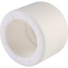 Политэк d=20 Заглушка для полипропиленовых труб под сварку (цвет белый)