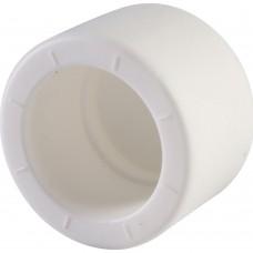 Политэк d=25 Заглушка для полипропиленовых труб под сварку (цвет белый)