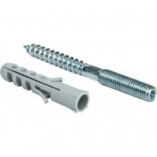 STOUT SAC-0020 Шпилька сантехническая М8*80мм с дюбилем М 10*50
