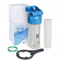 "AquaFilter AQM Корпус 10"" вход 1/2"" FHPR12-B фильтр в сборе (ключ, кронштейн)"