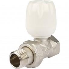"""STOUT SVRs Клапан ручной терморегулирующий с неподъемным шпинделем, прямой 1/2"""""""