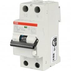 ABB Выключатель авт. диф. тока 1п+N 2мод. C 16А 30мА тип AC 6кА DS201 C16 AC30 ABB 2CSR255040R1164