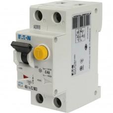 Eaton Выключатель авт. диф. тока 1п+N 2мод. C 40А 30мА тип AC 4.5кА PFL4-40/1N/C/003 EATON 293302