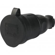 Т-Пласт Розетка каучук. 16А 2P+E IP44 Т-Пласт 31.01.304.0300