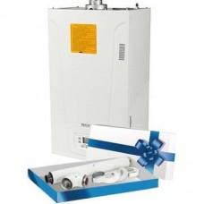 Baxi MAIN-5 24 F (24 кВт) котел газовый настенный/ двухконтурный/ турбированный с дымоходом SCA-6010-210850 STOUT Комплект коаксиальный для прохода через стену (совместим Baxi) 60/100, 850 мм.