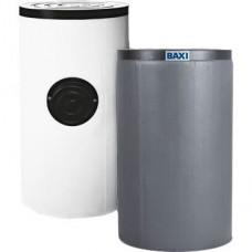 Baxi UBT 120 Водонагреватель косвенного нагрева (бойлер), напольный, 26,6 кВт, накопительный, с белым кожухом, из эмалированной стали, емкостью 120 л
