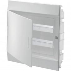 ABB Бокс 1SLM004101A1105 Mistral41 встраиваемый 24 модуля непрозрачная дверь IP41 с клеммником (АВВ)