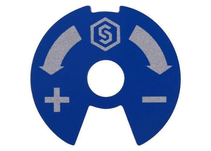 STOUT Синий-красный диск для распределительных коллекторов в Белгороде