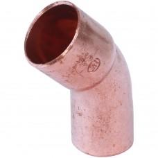 Sanha 5040 отвод 45° ВП-НП, медь 15, для медных труб под пайку