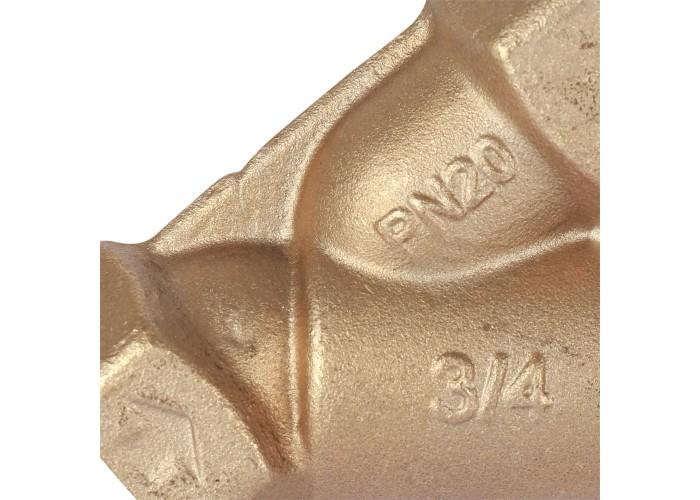 """Cimberio Клапан балансировочный ручной 727ОТ 3/4"""" обычн. латунь Kvs=7,28 PN20 BB без изм. ниппелей Cimberio в Белгороде"""