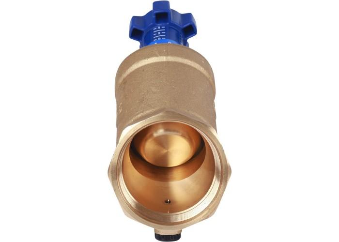 """Cimberio Клапан балансировочный ручной 787ОТ/2R 2"""" обычн. латунь Kvs=36,2 PN25 BB без изм. ниппелей Cimberio"""