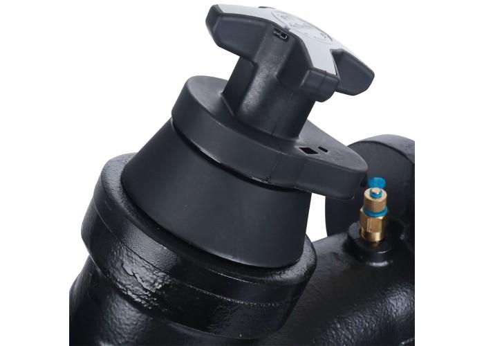 Cimberio Клапан балансировочный ручной 3739В Ду65 чугун Kvs=79,7 PN16 FF с изм. ниппелями Cimberio