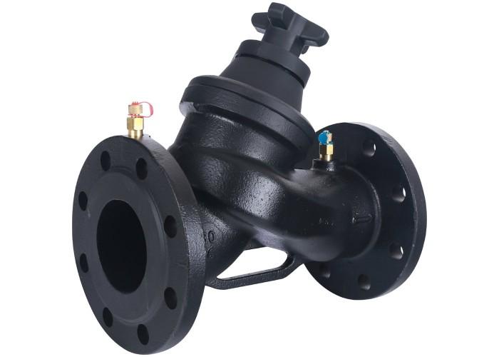 Cimberio Клапан балансировочный ручной 3739В Ду80 чугун Kvs=116,8 PN16 FF с изм. ниппелями Cimberio в Белгороде