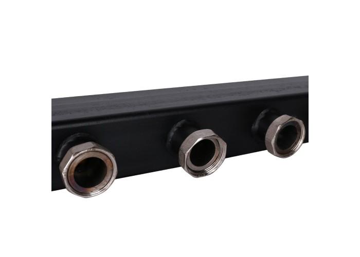 ROMMER RDG-0017 Стальной распределительный коллектор 4 отопительных контура 1 1/2