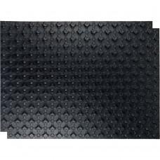 STOUT SMF мат для теплого пола с бобышками черный 1100х800х1 (без теплоизолирующего слоя)