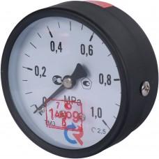 РОСМА ТМ-310Т.00(0-1МРа)G1/4.150С.2,5 МАНОМЕТР 63 мм, ТИП - ТМ-310Т, G1/4 (сзади), 0-1МРа, 150град.,кл.2,5